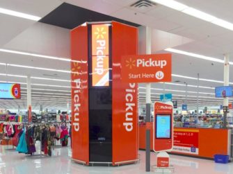 Walmart In-store Interactive Pickup Kiosk - Retail Post Covid -19