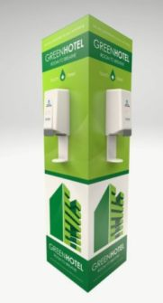 4 Sided Branded Hand Sanitizing Stations