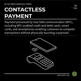 BENCHMARC - GLOSSARY - CONTACTLESS PAYMENT