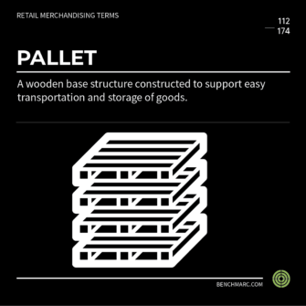 BENCHMARC - GLOSSARY - PALLET